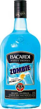 Bacardi Party Drinks Zombie